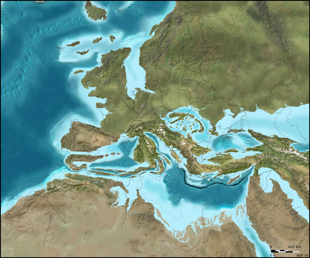 middle miocene tethys sea europe